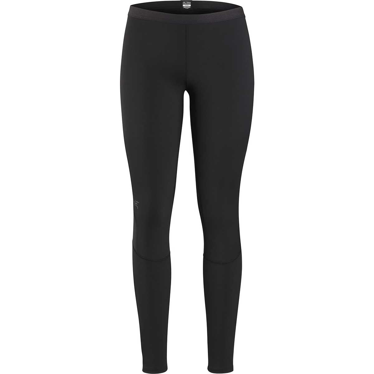 Arcteryx women's Phase AR Bottom in Black front view